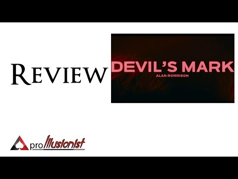 Devil's Mark - Alan Rorrison - Review