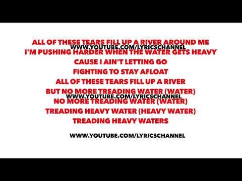 Chris Kläfford- Treading water (Lyrics)