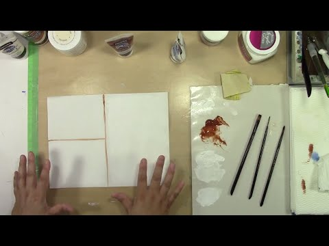 Two Ways to Prepare Canvas Paper for a Detailed Wildlife Painting Study
