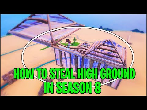 13 Advanced Ways to Take High Ground in Season 8 - Fortnite Tips and Tricks Part 1