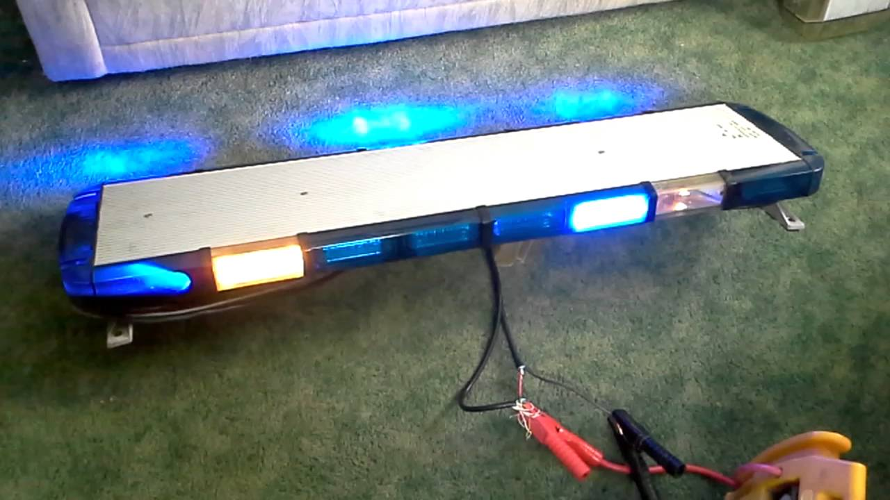 whelen liberty 49 u0026quot  ballast blue led lightbar