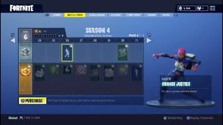 Fortnite - SEASON 4 - New Emote - Orange Justice (Brite Bomber Skin)