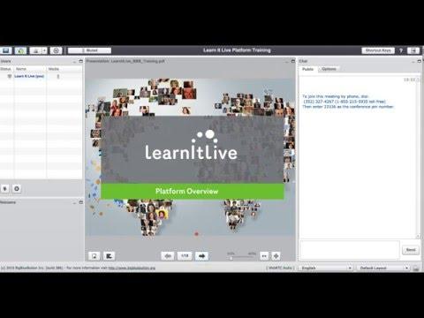 Learn It Live Platform Orientation December, 2015