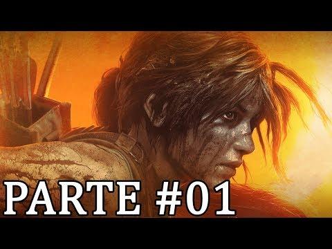 Shadow of the Tomb Raider PS4 Pro. Gameplay. Dublado e Legendado PT.BR. PARTE 01