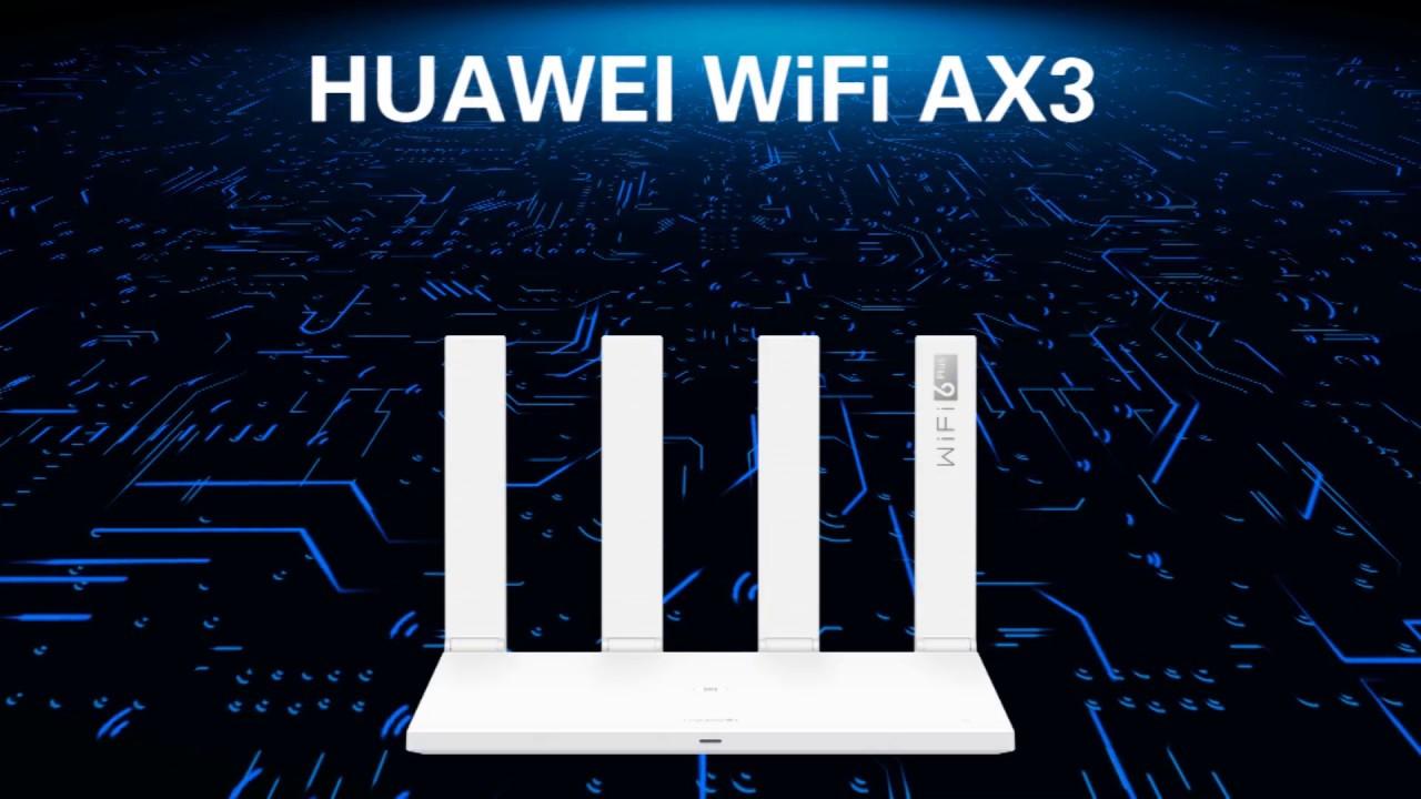 HUAWEI WiFi AX3: 即日起全国开售