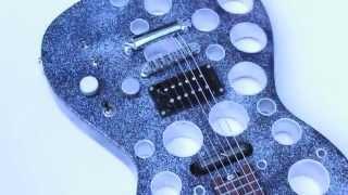 Cort MBC-1 Holey Mod. Silver Glitter Holes
