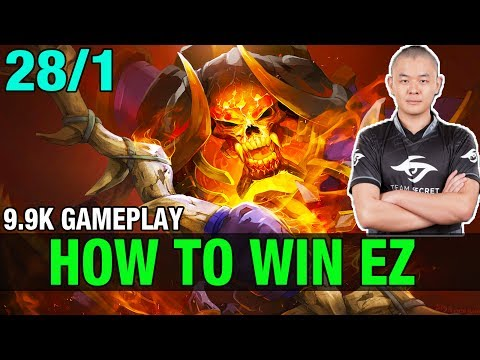 How TO WIN EZ - MidOne 9.9K MMR Plays Clinkz - Dota 2