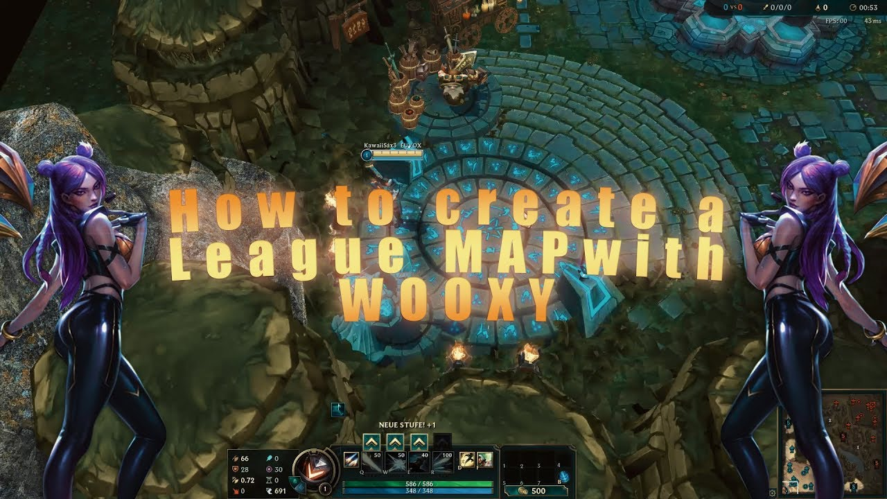 How to edit League of Legends Maps with Wooxy? [Tutorial] + Teasing the old  Rift