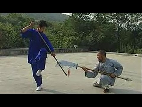Shaolin kung fu big saber, some combat methods