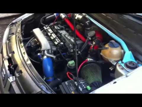Seat ibiza 1.8t 300bhp engine sound