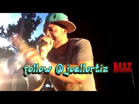 @JoellOrtiz In Crotona Park / Summer Stage 2013 @BaronxObama Press Pit View