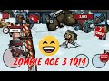 ZOMBIE AGE 3 CAT MAN KUNGFU MAN DEFEND WALL | Android Gameplay Games Part 1014 by Youngandrunnnerup
