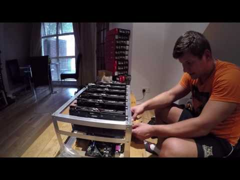 Building New Ethereum Mining Rig With MSI R9 380 Graphic Cards!