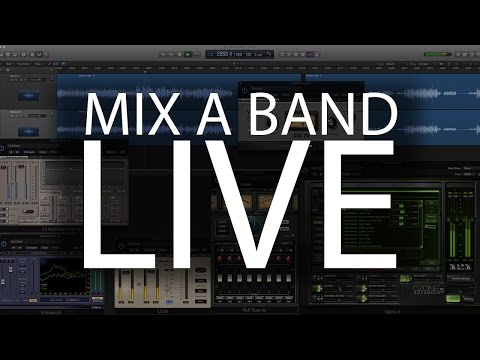 How to Mix a Band - Live