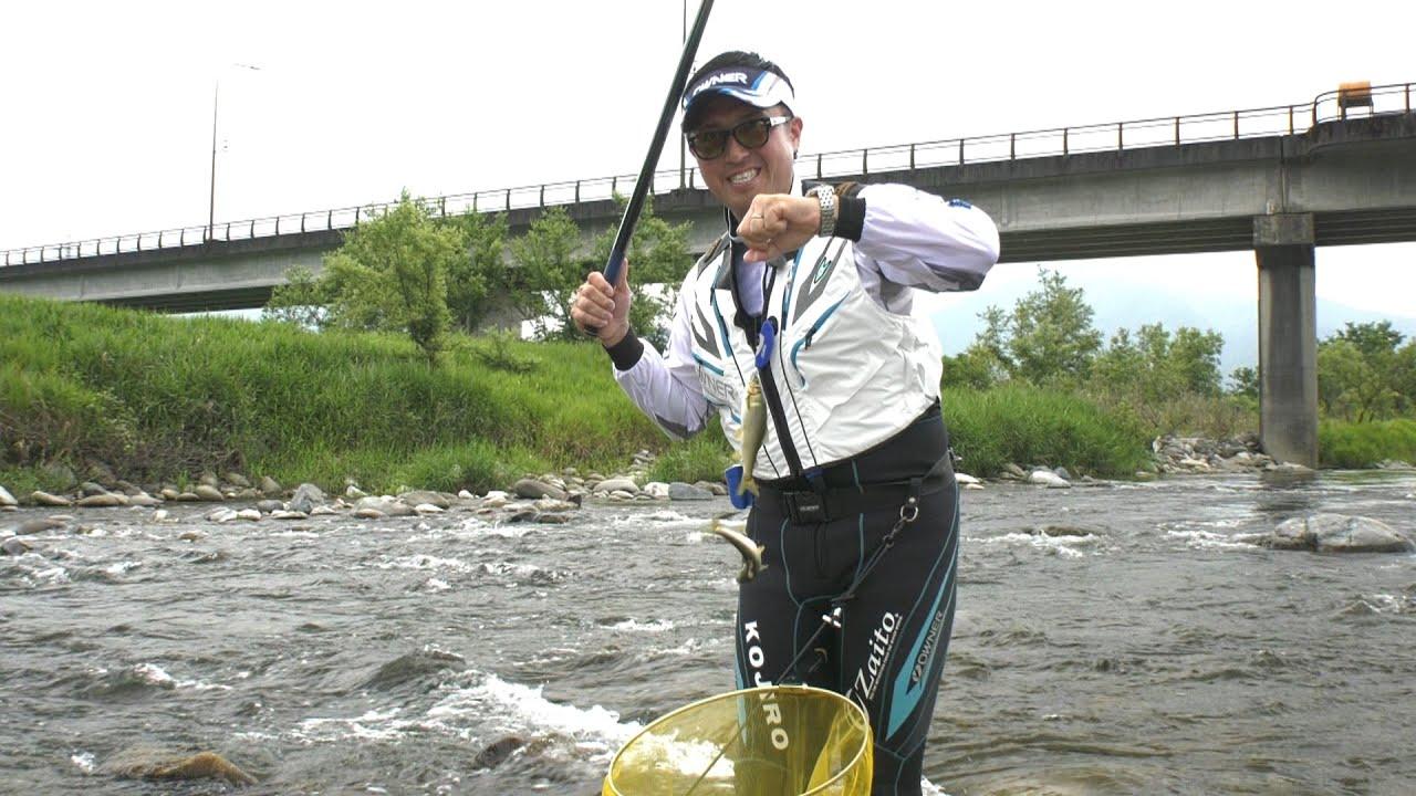 夢釣行〜一魚一会の旅〜(大野市九頭竜川と真名川)の動画