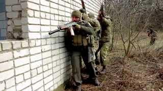Тренування бійців 15 Харківського запасного батальйону Добровольчого Українського Корпусу ПС