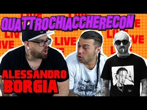 ALESSANDRO BORGIA AKA ALE PUNTO E BASTA LIVE 🎧 | QUATTRO CHIACCHERE CON... | CHIAMA IN DIRETTA