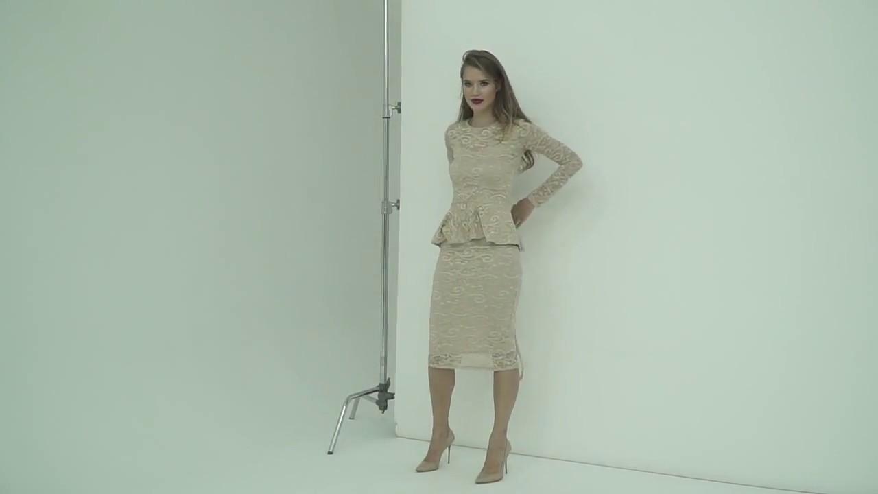 Моделируем бежевое платье футляр своими руками Подкройной бочок и .