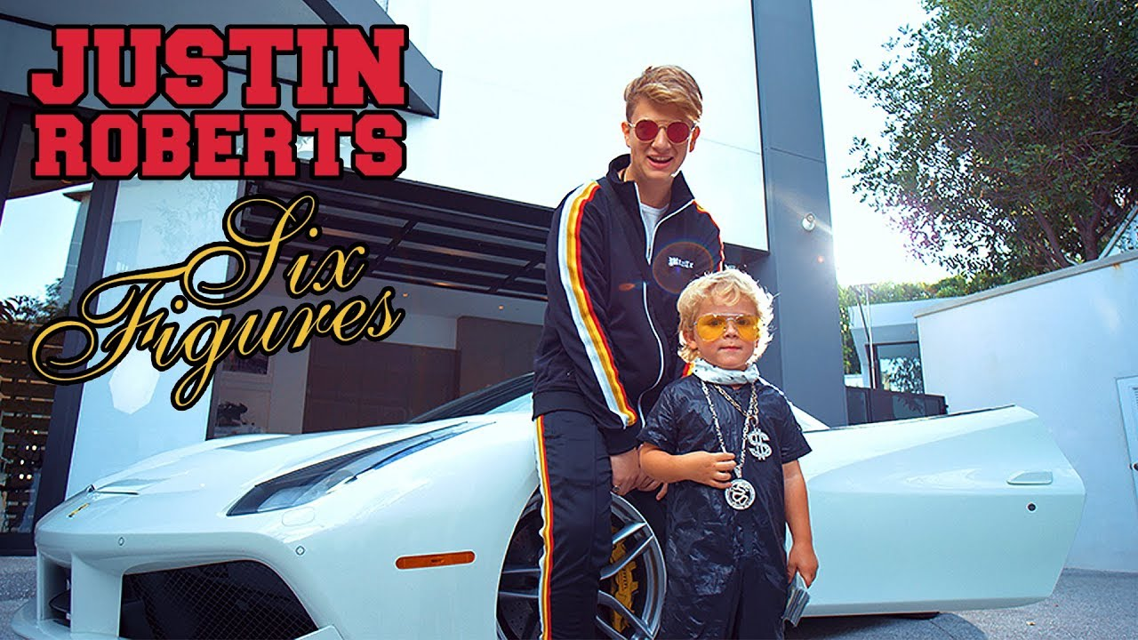 Justin Roberts Six Figures Feat Mini Jake Paul Official Music
