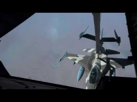 Advanced Tactical Leadership Course - Morocco F-16 Refueling from YouTube · Duration:  2 minutes 52 seconds