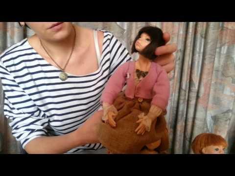 видео: Авторские куклы Варвары Лютик