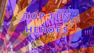 Marvel Heroes Omega Top Ten Best Characters
