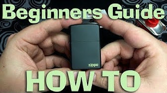 Zippo Lighter - Beginners Guide - How To - Unboxing