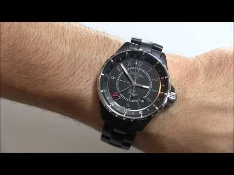best website c11ac c84fb Chanel J12 GMT Matte Ceramic Watch Review : モテたい男子必見 ...