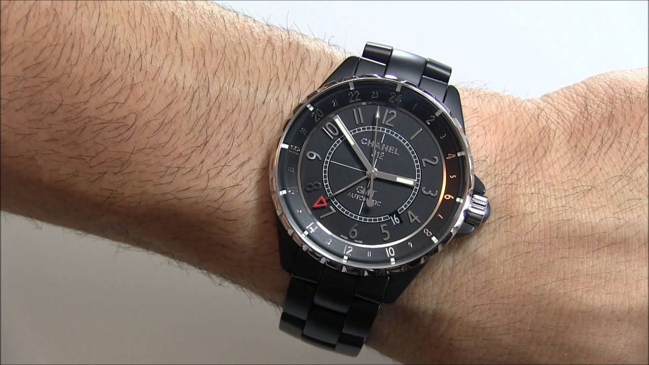 chanel j12 gmt matte ceramic watch review