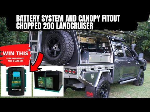 12 VOLT POWER SYSTEM IN A CHOPPPED 200 LANDCRUISER - THE DUAL CAB 200 PART 5