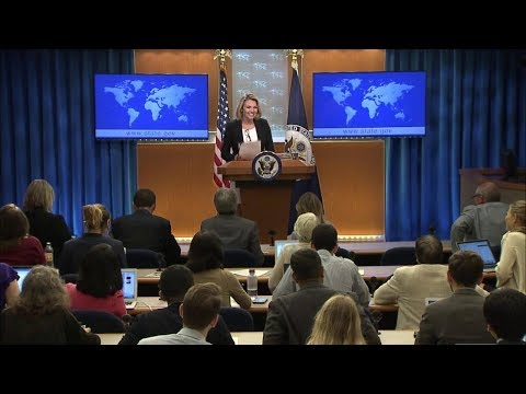 Department Press Briefing - August 23, 2018