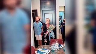 Antonio David, Olga Moreno y David Flores protagonizan la fiesta de Rocío Flores