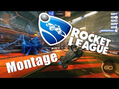Squishy Muffinz Montage : Rocket League EPIC Moments Montage!!! My Best Goals, Saves, And Plays! - Asurekazani