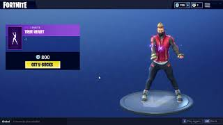 *NEW* FORTNITE TRUE HEART EMOTE DRIFT SOOO GAY