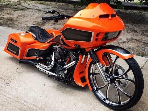Harley Davidson custom touring baggers-Road Glide, Road ...