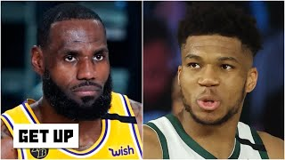 LeBron & Giannis both lost Game 1, but who is in more trouble? | Get Up