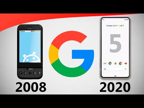Evolution Of Google Phones! ⚡🔥