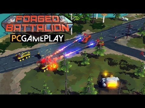 Forged Battalion Gameplay (PC HD)