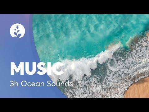 3 hours Deep Sleep Music-Nature-Ocean Sounds-Relaxing-Meditation Music