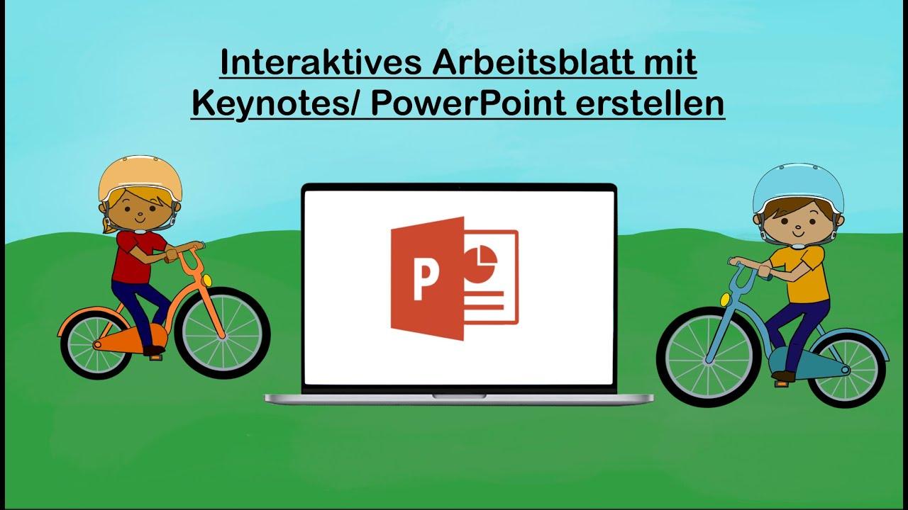 Erklärvideo / Interaktives Arbeitsblatt erstellen / interaktives PDF /  Videospiel erstellen