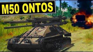 ▶️ m50 ontos - 6x Gunned tank review [War Thunder gameplay]