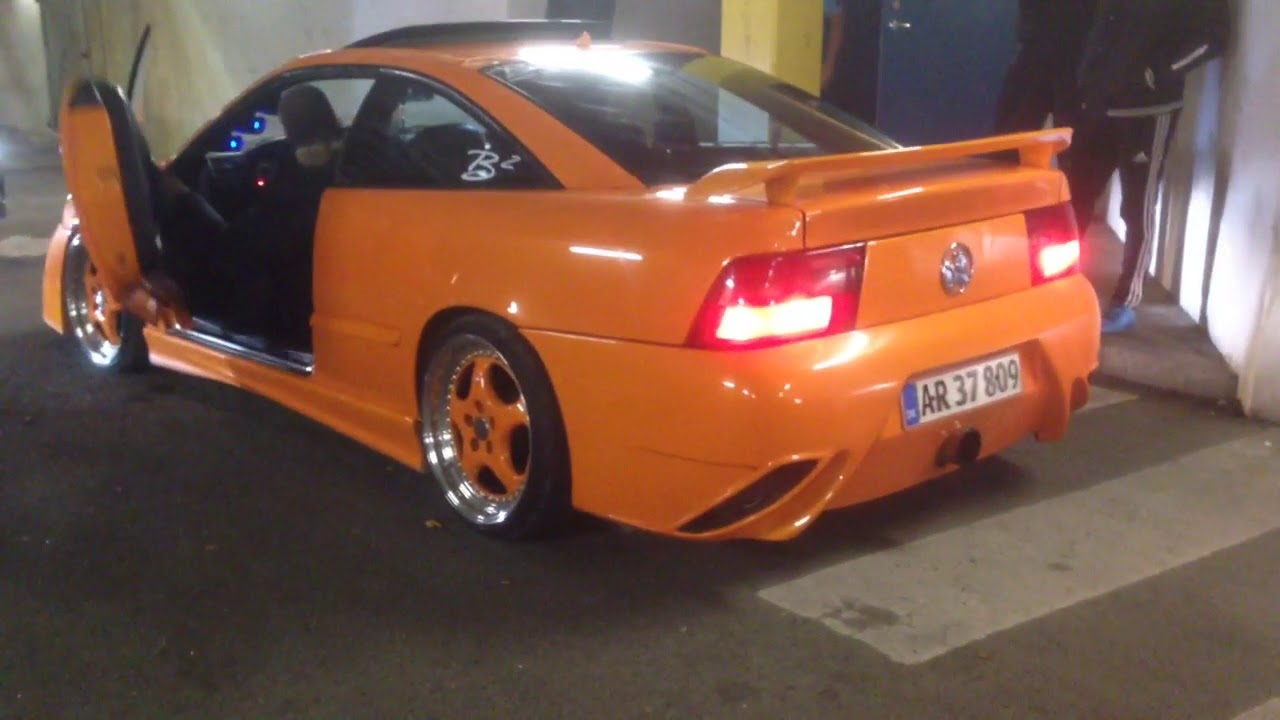 opel calibra tuning 2 0 16v turbo 4x4 sound youtube. Black Bedroom Furniture Sets. Home Design Ideas