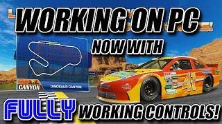 Daytona Championship USA  -- Controls FULLY working on PC! (Dinosaur Canyon)