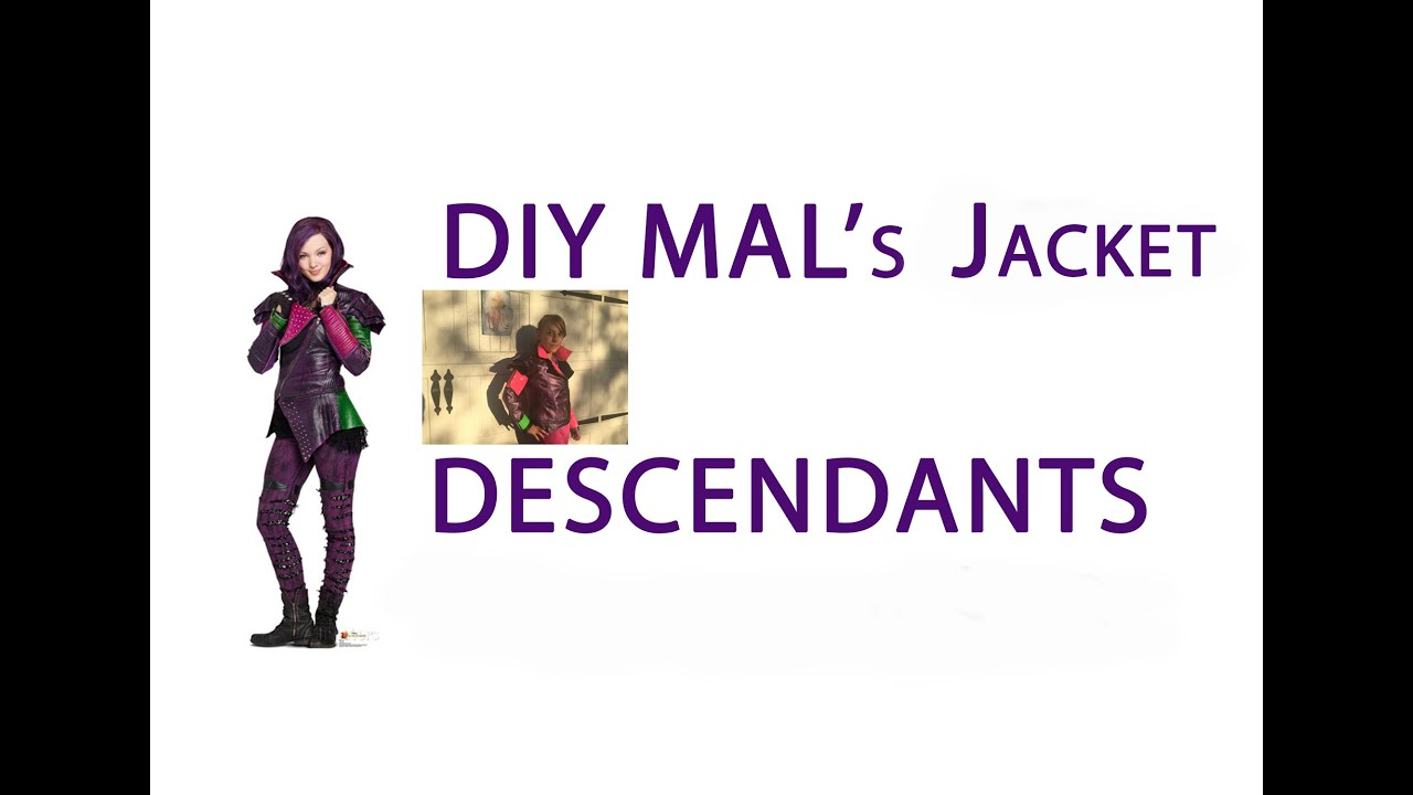 Disney Descendants   DIY Malu0027s Purple Jacket   Tutorial Costume   PART 1    YouTube