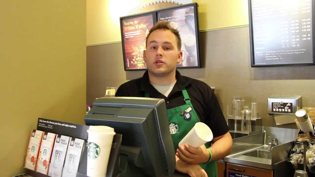 Starbucks Language: How to Order Your Drink at Starbucks - YouTube