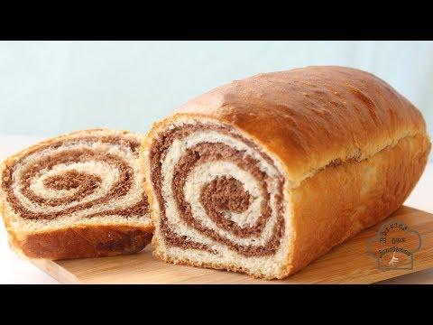 Pan de CHOCOLATE en espiral
