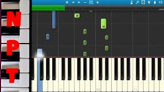 Zedd ft. Troye Sivan - Papercut Piano Tutorial - How to play Papercut - Synthesia