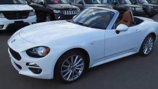 2017 FIAT 124 SPIDER LUSSO VIRTUAL WALK AROUND - ISLINGTON CHRYSLER-FIAT
