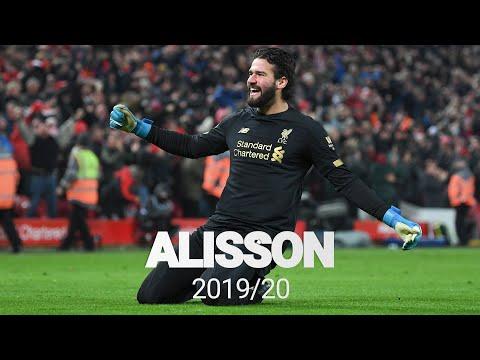 Best of: Alisson Becker 2019/20 | Premier League Champion