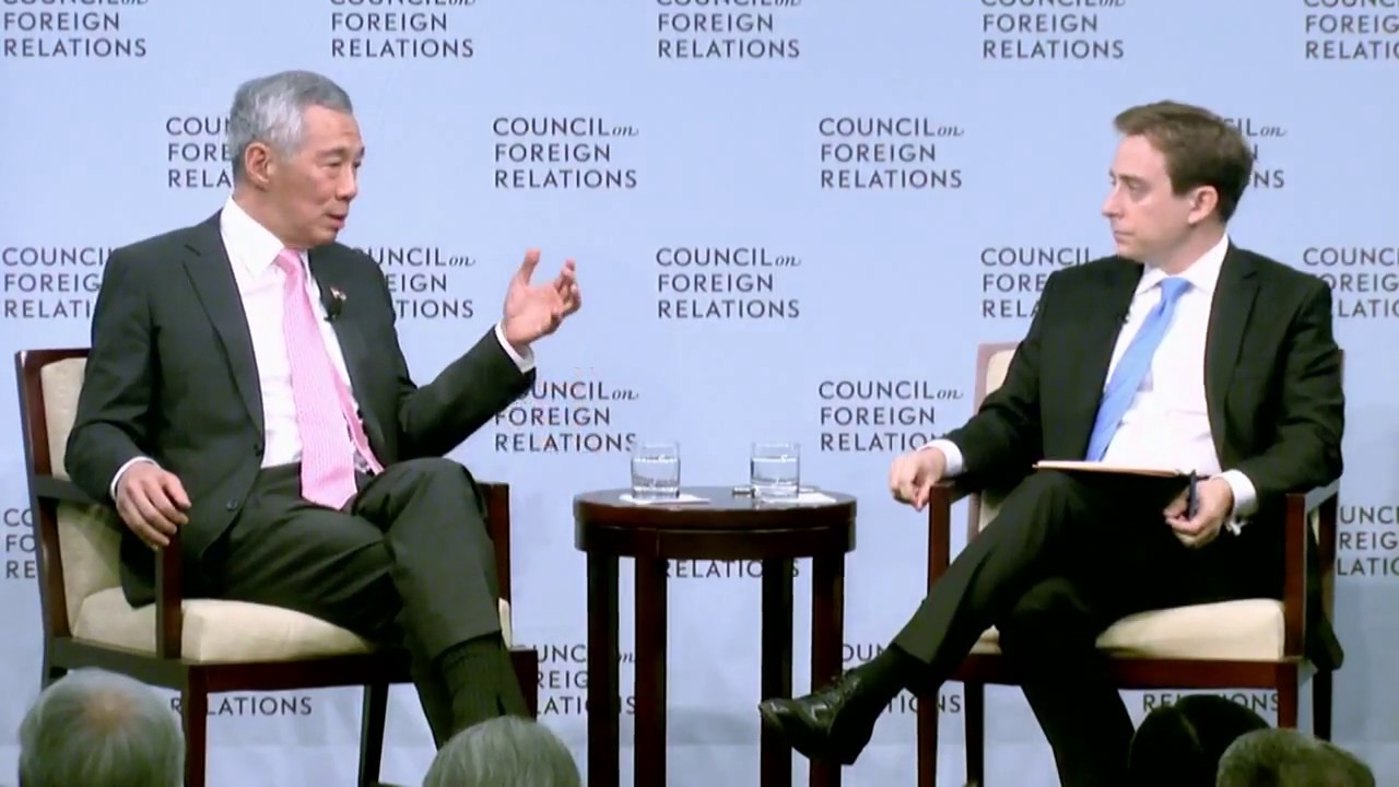 A Conversation With Lee Hsien Loong